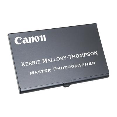 LC200 - Custom Engraved Business Card Cases