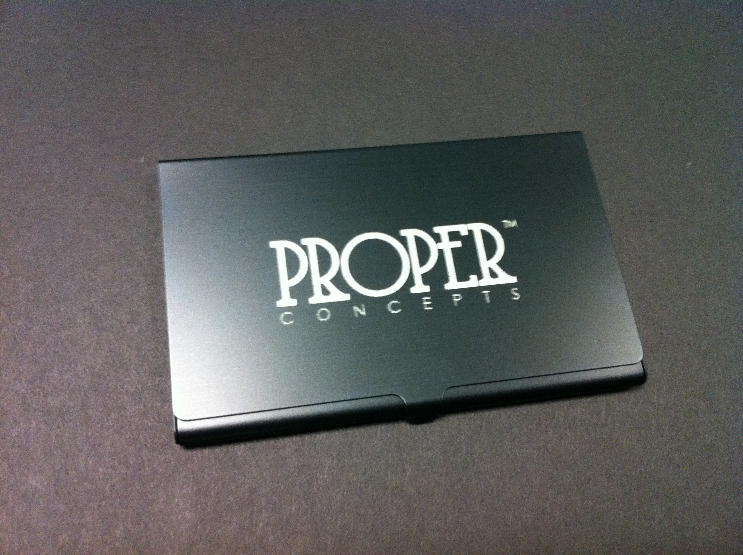 Laser Cutz Metal And Paper Business Card Holder Gift Laser
