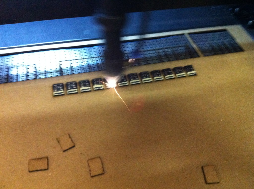 laser batch engraving serial  numbers on metal