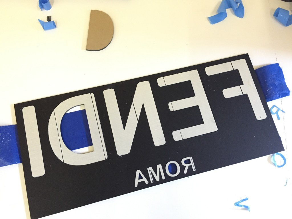 adhesive backing laser vut names tags and store signs in NYC and brooklyn