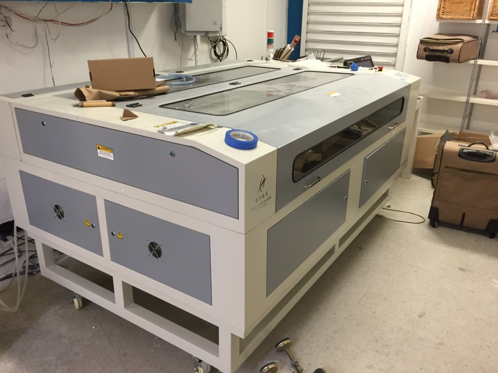 laser cutting machine equipment set up and service nyc brooklyn