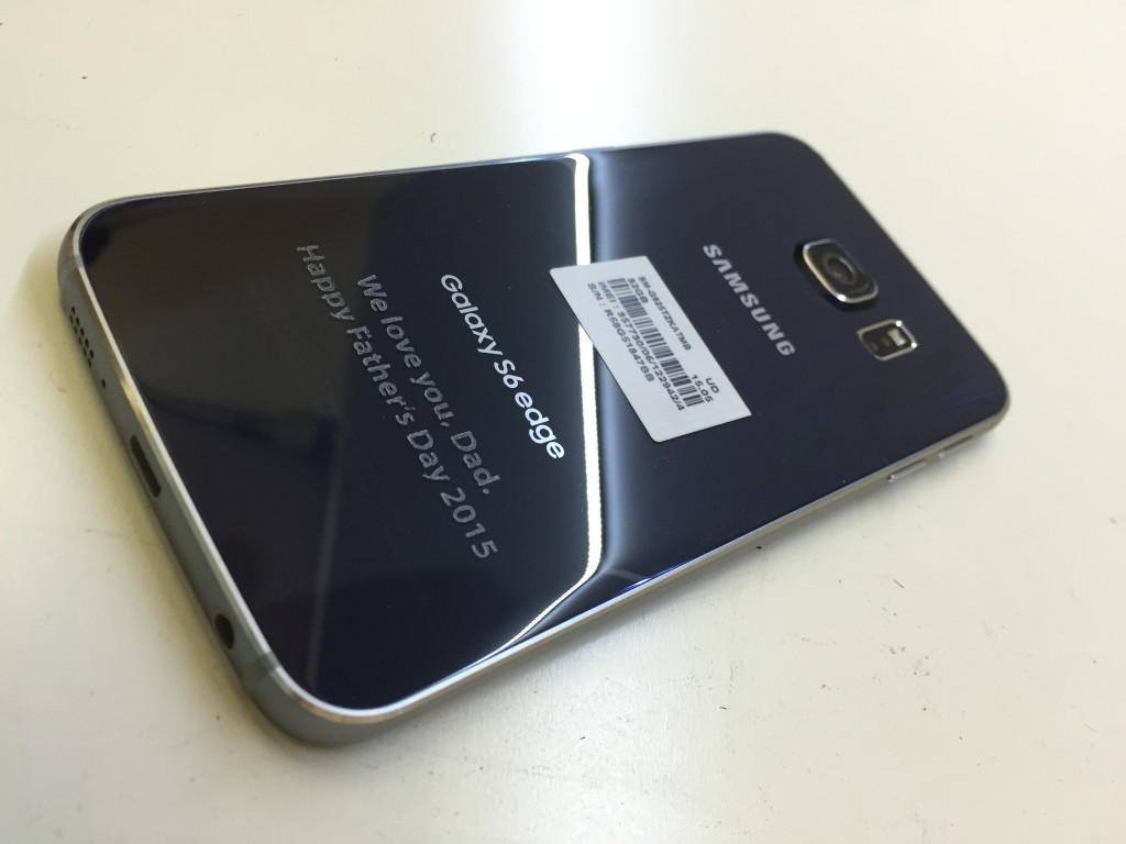 samsung galaxy s6 edge gorilla glass phone laser engraving NYC