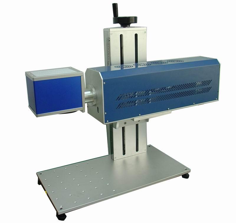 30W metal fiber laser engraver