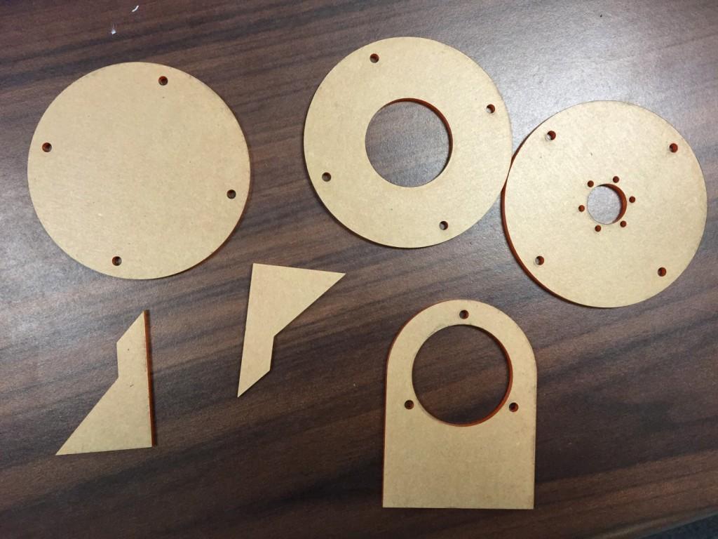 mechanical laser cutting
