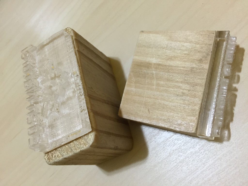 wood handle embossing soap stamp for hot processing