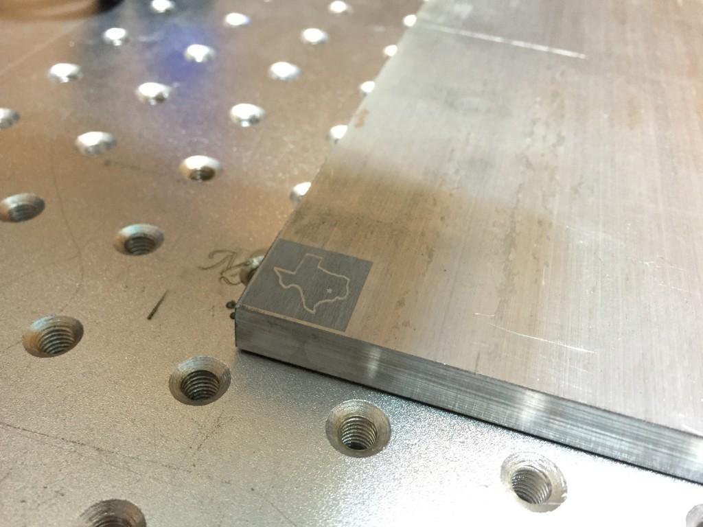 fiber laser engraving aluminum plaque nyc