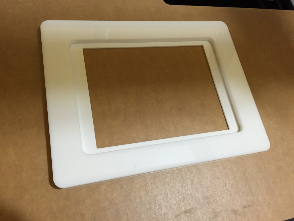 Movie Prop iPad Bezzle Laser Cut NYC