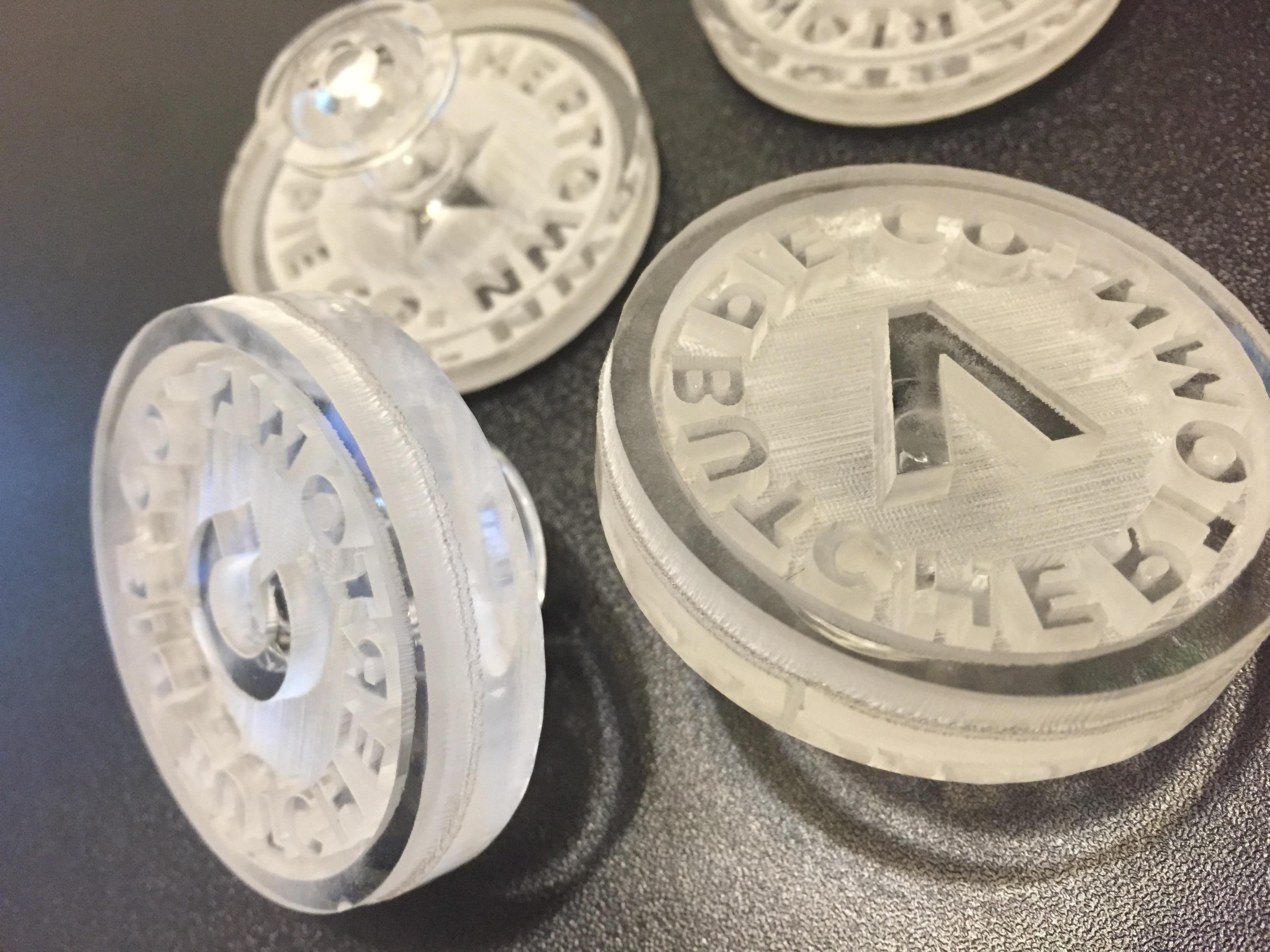 Deep Acrylic Soap Stamps Lasercutz Nyc