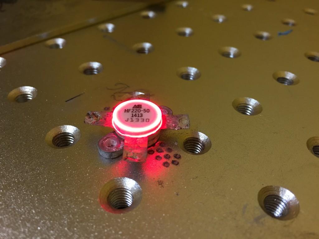 electronics ic stransistor laser marking engraving