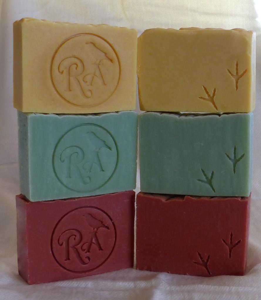 soap logo branding RA Soaps