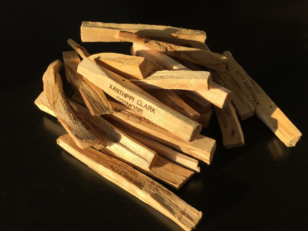 Scent Wood Sticks Laser Engraved with Name NYC