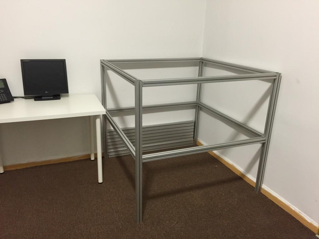 large scale 3d printer frame