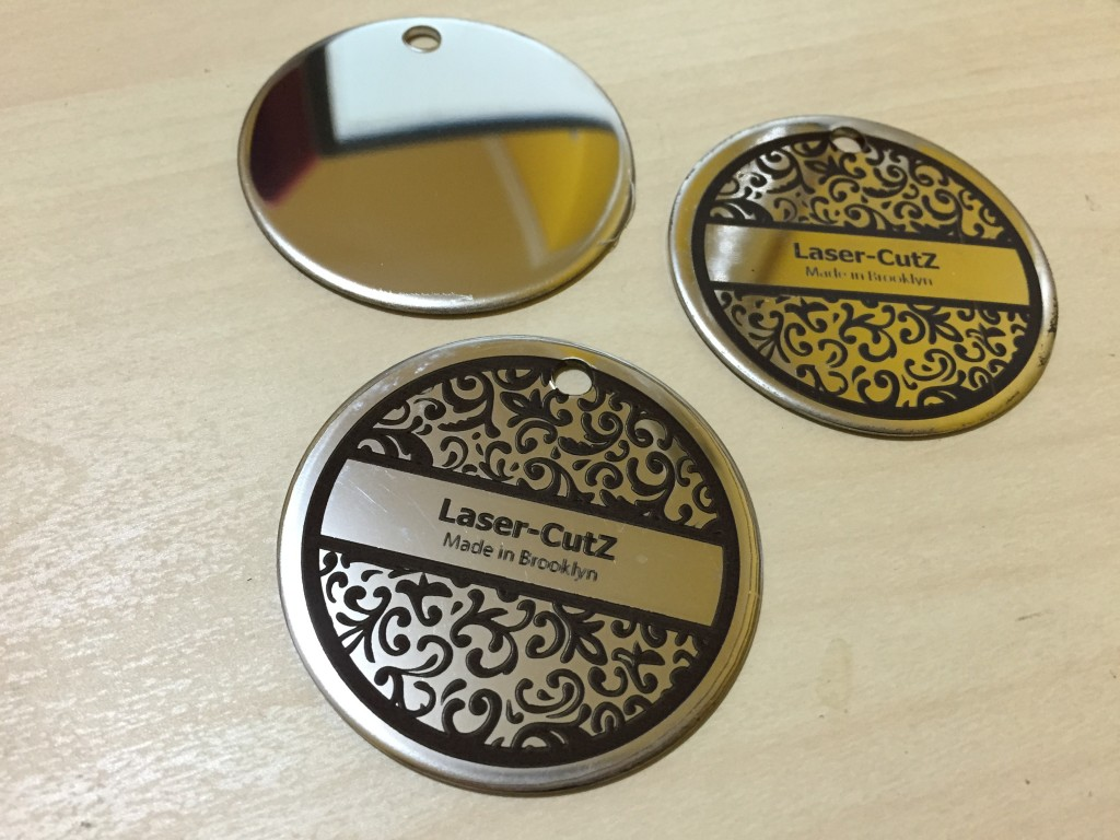 fiber laser engraved metal id tags nyc stainless steel