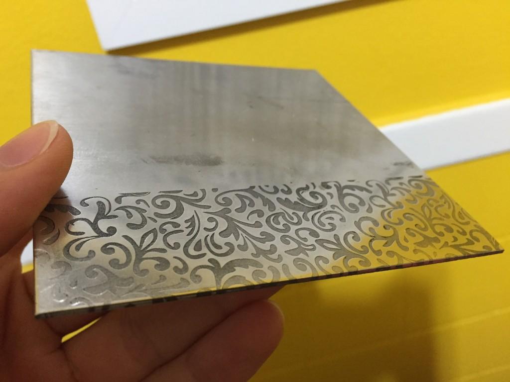 armor style metal laser engraving pattern nyc lasercutz